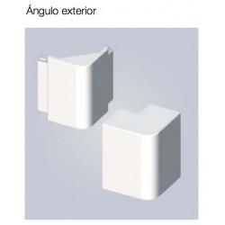 ANGULO EXTERIOR PARA CANALETA 22mm BLANCO