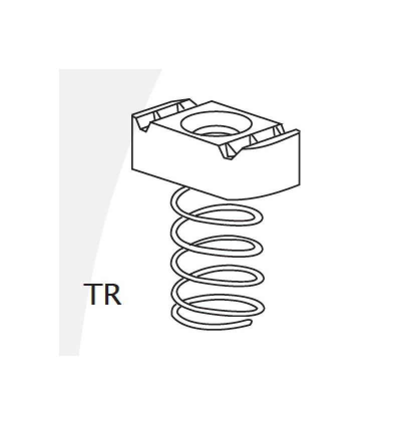 "TUERCA RESORTE 3/8"" (9.52mm)"