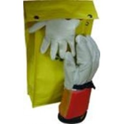Bolsa para Guantes fabricados en Lona con Gancho para cinturon