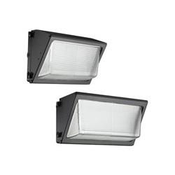LUMINARIA TIPO WALLPACK LED 40 WATTS 120-277V BRONCE