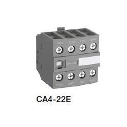Contacto Auxiliar Frontal 2NA - 2NC CA4-22E para contactor AF26 - AF96