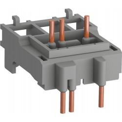 Union entre Guardamotor y contactor BEA16-4