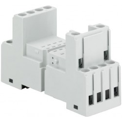 Base para relevador miniatura CR-M4SS 2c/o or 4c/o CR-M relay