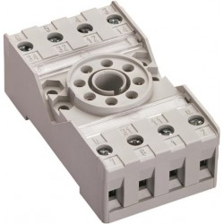 Base para relevador miniatura CR-U2SM Tipo Universal, 8 pines CR-U