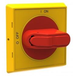 Manija Selector IP65 para OT16…125F, color Amarillo Rojo para OT16…125F