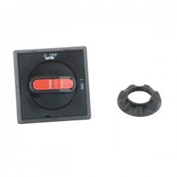 Manija Selector IP65 para OT16FT…40FT color Negro rojo no usa varilla