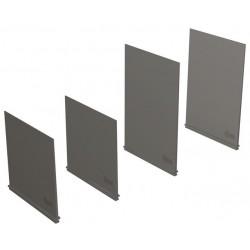 Diafragmas separadores tipo PB100 bajos (H=100 mm) 4 Piezas 3 Polos para T4-T5