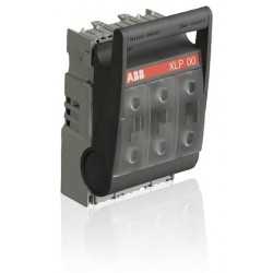 Seccionador Portafusible XLP00 para Fusible Europeo tamaño 000, 0 tipo DIN43620 maximo 160A/690 V montaje en platina