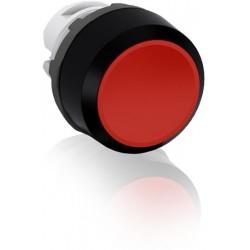 Boton pulsador Rojo momentáneo MP1-10R No iluminado rasante