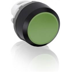 Boton pulsador Verde momentáneo MP1-10G No iluminado rasante