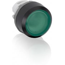 Boton pulsador Verde momentáneo MP1-11G iluminado sin foco