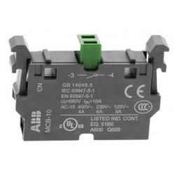 Contacto Auxiliar 1NA simple para 22mm MCB-10B