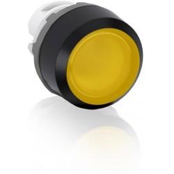 Boton pulsador Amarillo momentáneo MP1-11Y iluminado rasante sin foco