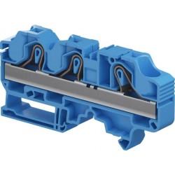 Clema de paso cal. 8 AWG 41A 600V Color Azul