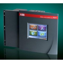 Controlador pantalla Tactil RVT 12 pasos para bancos de capacitores