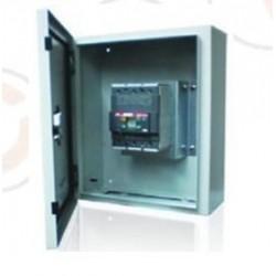 Gabinete SRN4315K + Tmax XT1C 100A 3p 480V con Terminales p/cable (1x70 mm2).