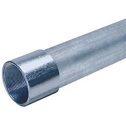 """TUBO PARED GRUESA 1/2"""" (16mm) CON COPLE"""