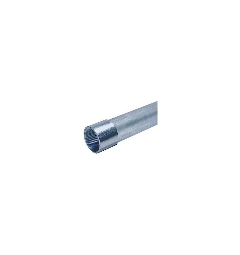 """TUBO PARED GRUESA 3/4"""" (21mm) CON COPLE"""