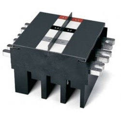 Herraje Trifasico para 2 interruptores T5 para Tablero Panelboard