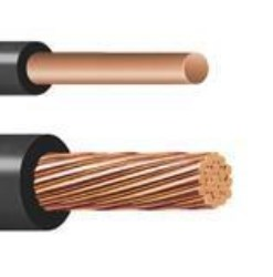 CABLE INDIANA 8 AWG NEGRO CARRETE