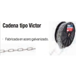 CADENA TIPO VICTOR 2mm paquete 30m