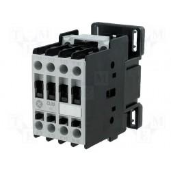 CONTACTOR 18A, 5HP 220V 3F IEC BOBINA 220VAC