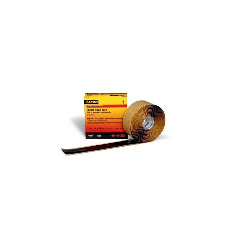 CINTA DE HULE MASTIQUE 2in X 10Ft (50.8mm X 3m)