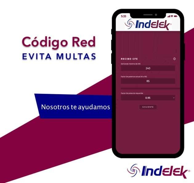 Indelek, ¡Nosotros te ayudamos con el código de red!