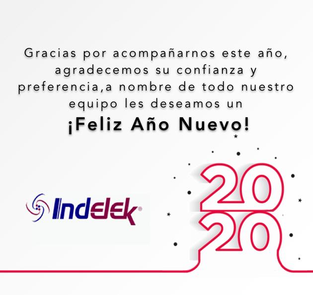 ¡Indelek les desea un feliz y prospero año nuevo!