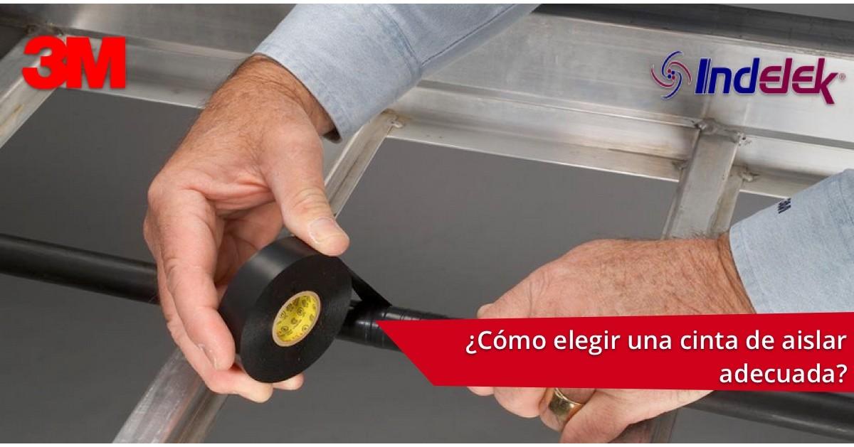 ¡COMPLETA TU CAJA DE HERRAMIENTAS! CONOCE CÓMO ELEGIR LA MEJOR CINTA ELECTRICA.